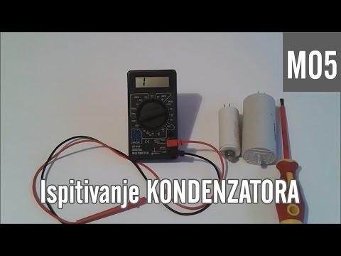 M05 - Ispitivanje KONDENZATORA