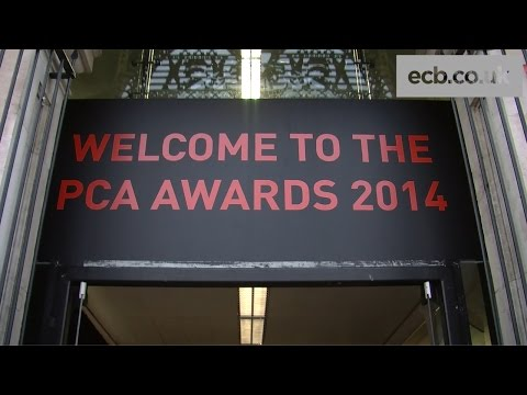 On the red carpet with Broad, Anderson and Woakes at the PCA Awards