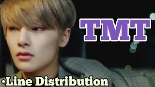 STRAY KIDS - TMT (Line Distribution)