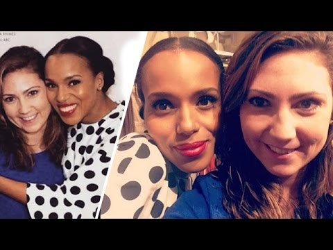 'Scandal' Star Kerry Washington Met Her Biggest Fan … Shevonne! | TMZ