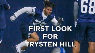 Ballzy Podcast: How did Trysten Hill look at rookie camp