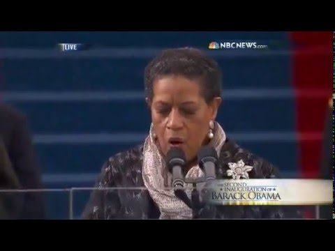 Myrlie Evers Williams Gives The Inauguration Invocation   YouTube