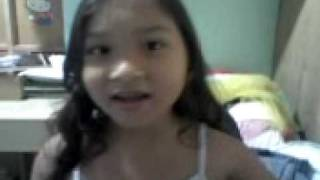 Kyla Cassandra singing Dyosa theme song