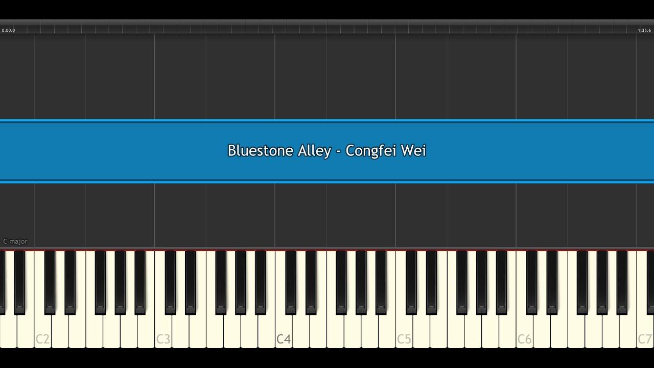 bluestone alley congfei wei piano tile 2 youtube. Black Bedroom Furniture Sets. Home Design Ideas