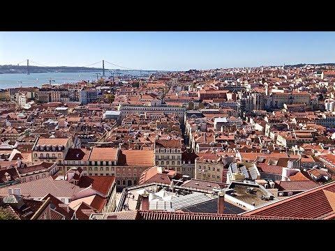 Lisbon, Portugal - Renfe AVE / Trenhotel - Castelo de São Jorge & More - Travel Series Ep. 11