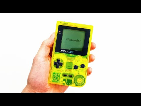 Let's Refurb! - Limited Edition Toy's R' Us GameBoy Light!