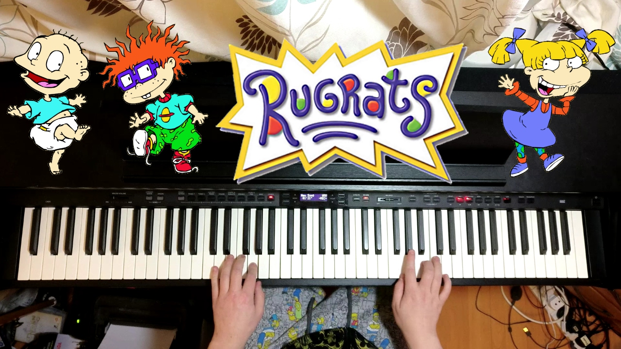 Rugrats Theme Song Piano