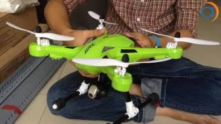 Hướng Dẫn Sử Dụng Và ĐIều Khiển Máy Bay UFO JJRC H26 Flycam - Asun.vn