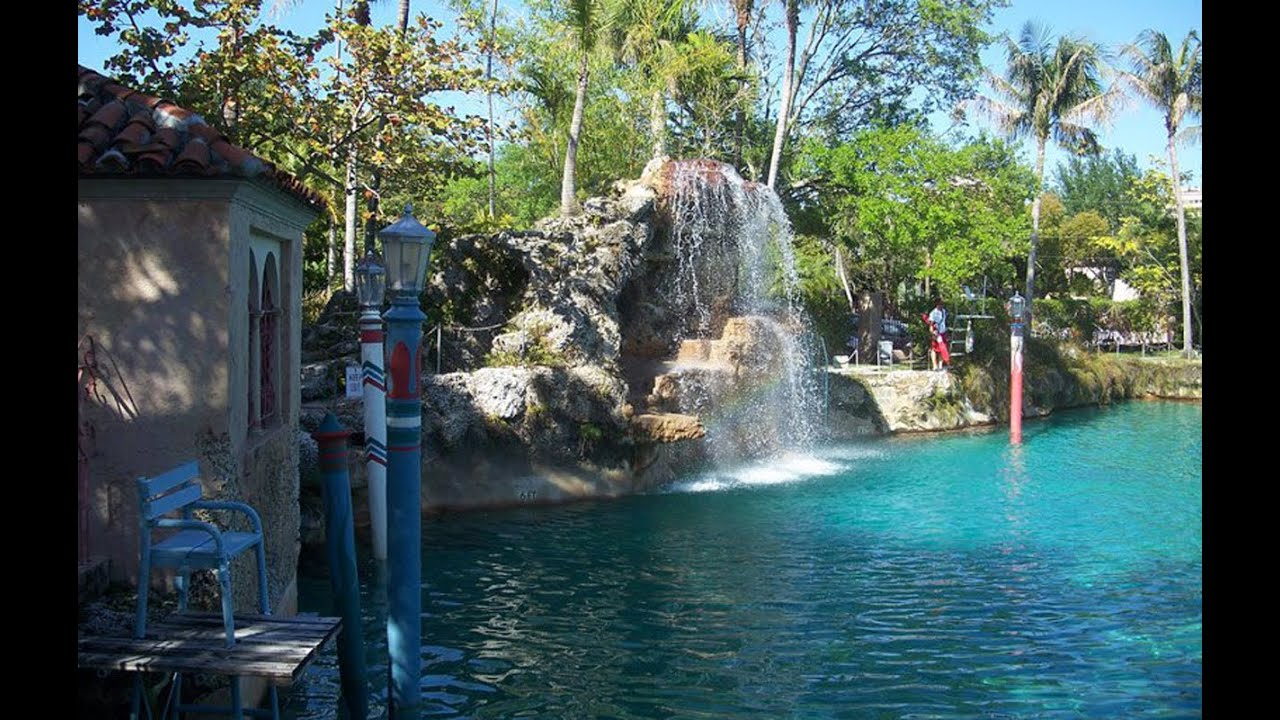 The venetian pool in florida america 39 s largest freshwater swimming pool youtube for What is a freshwater swimming pool