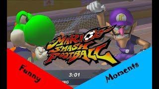 Die WAHRE Kraft von Waluigi? Mario Smash Football (Funny Moments und Fails))