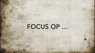 Focus op ... Gods roeping