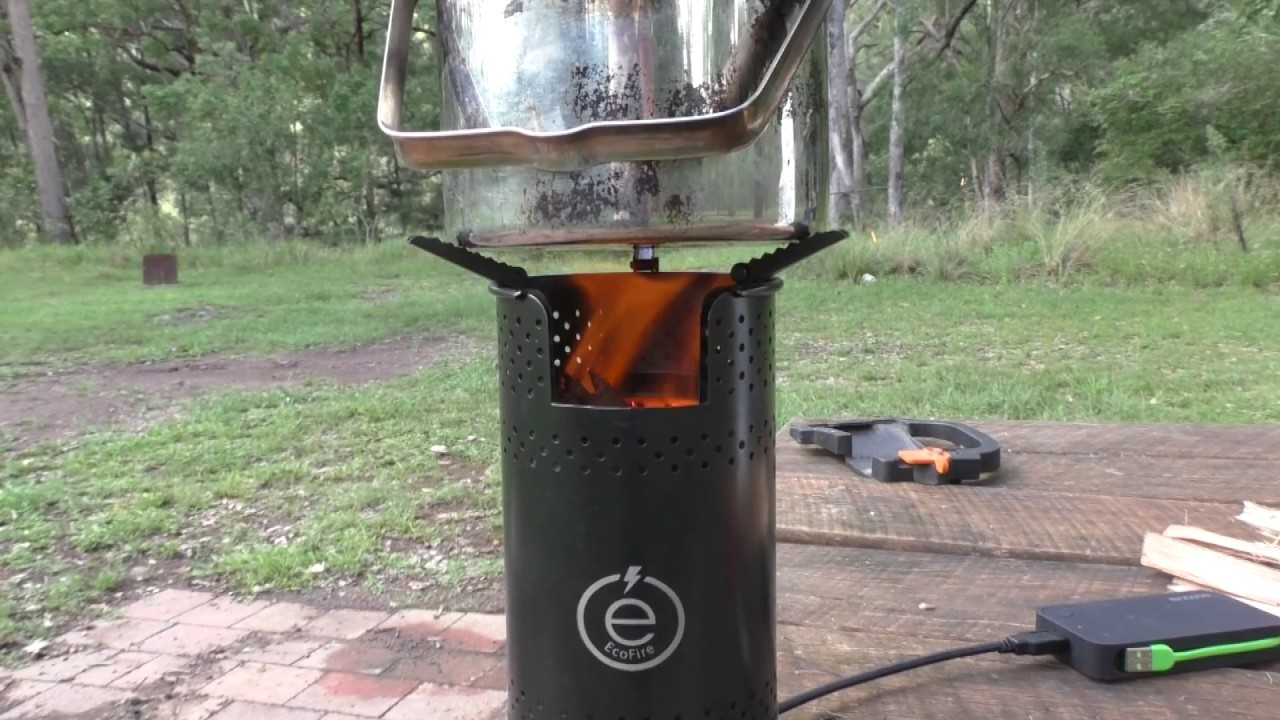 ecofire portable fire place outdoor cooking review alloffroad