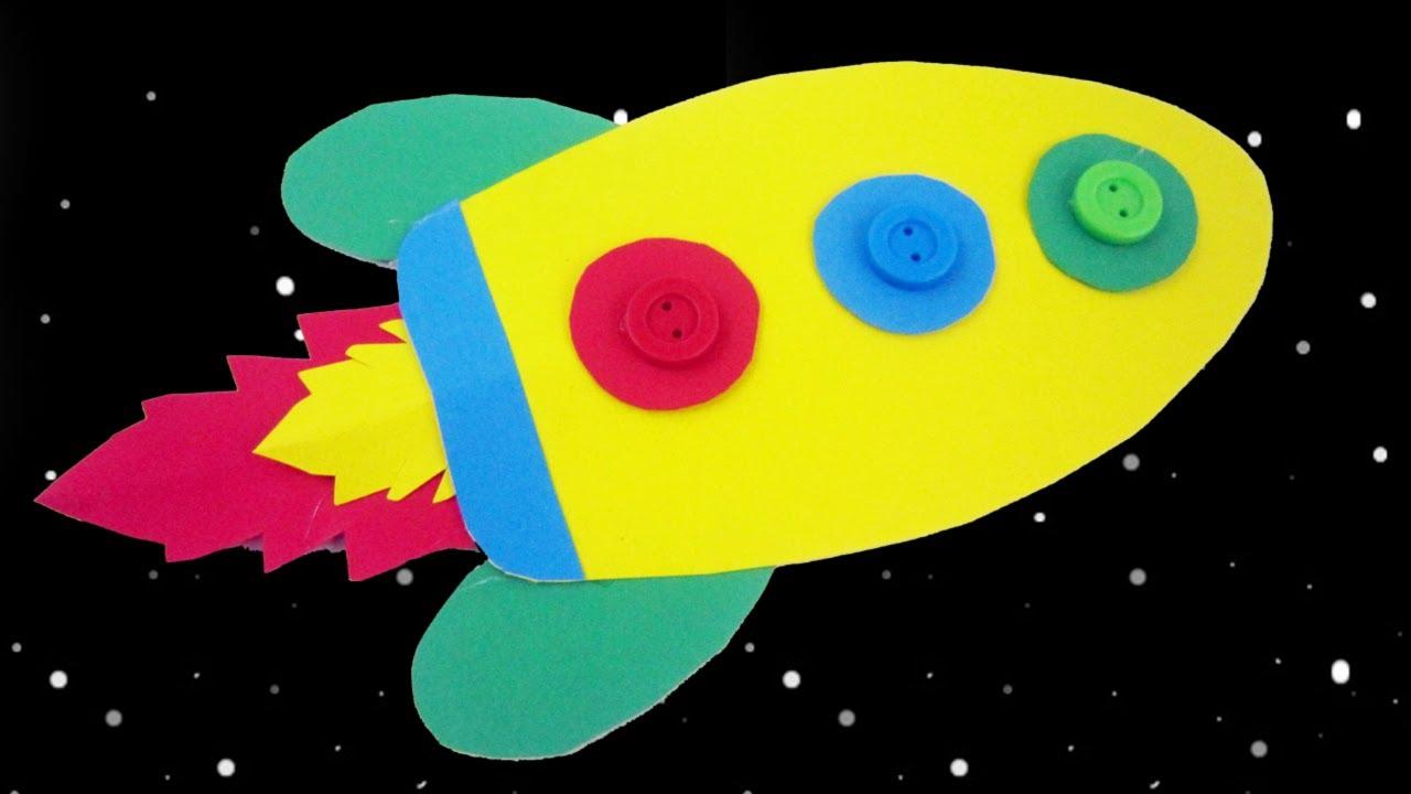 Episodio 687 c mo hacer un cohete para decorar un cuarto for Como decorar un cuarto infantil