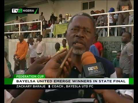 Bayelsa UTD Emerge Winner Of State Federation Cup
