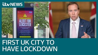 'we Tried Other Things But They Didn't Work': Hancock Explains Leicester's Local Lockdown | Itv News