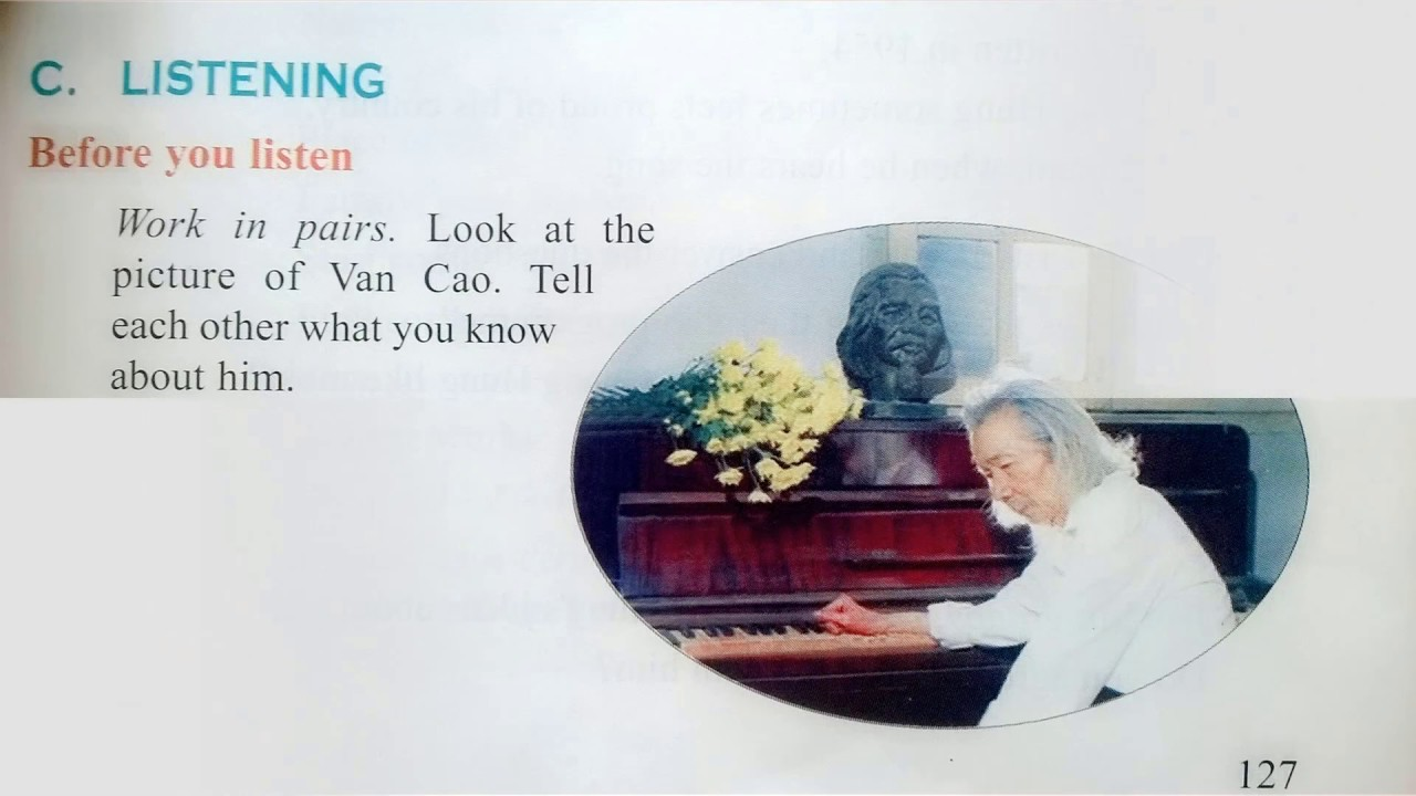 Nghe Tiếng Anh Lớp 10 Unit 12 Listening