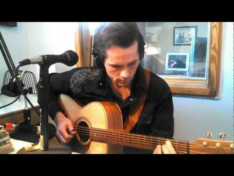 "Jonathan Brown Radio Interview and fingerstyle guitar performance of ""Fly Me to the Moon"""