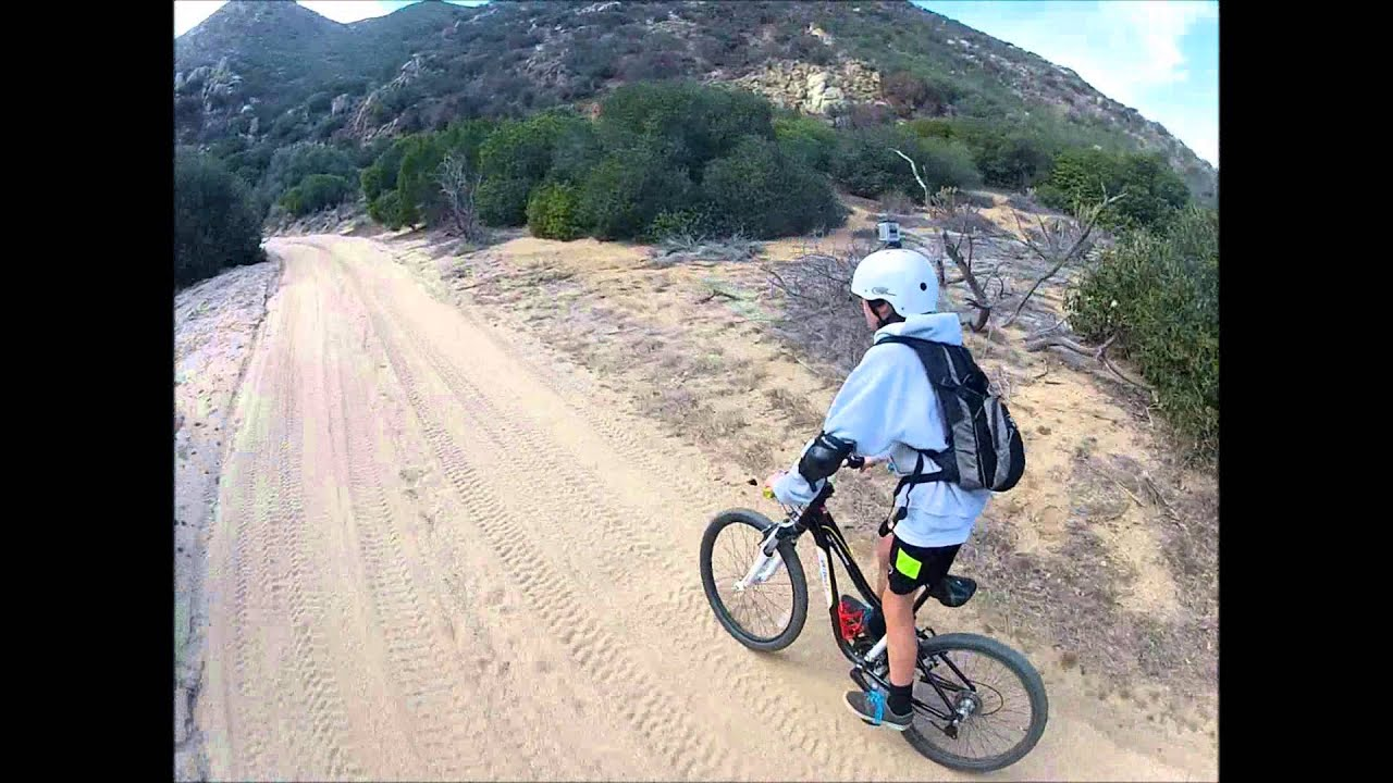 Mtn Bike Down Grapevine Canyon Road Anza Borrego Youtube