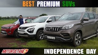 Independence Day Special: Best Premium SUVs in India | MotorOctane