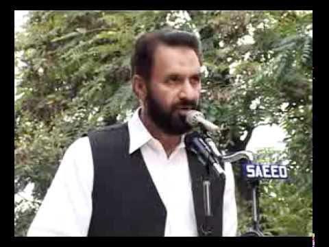 Syed Munawar Hasan Addressing Women Yakjehti e Kashmir Rally in Islamabad 11 10 2010 Part1