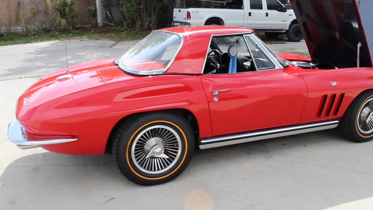 1965 Corvette Hardtop Convertible 327365 NCRS Top