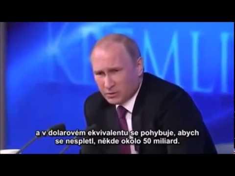 Šokující odpověď Putina na otázku reportéra BBC
