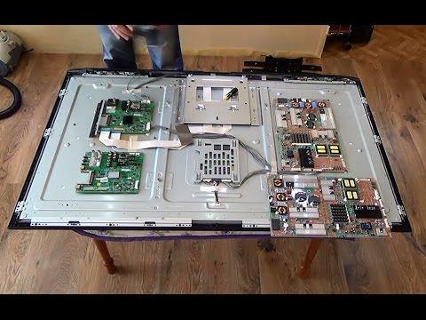 видео: Замена плат на телевизоре lg 55 le5300