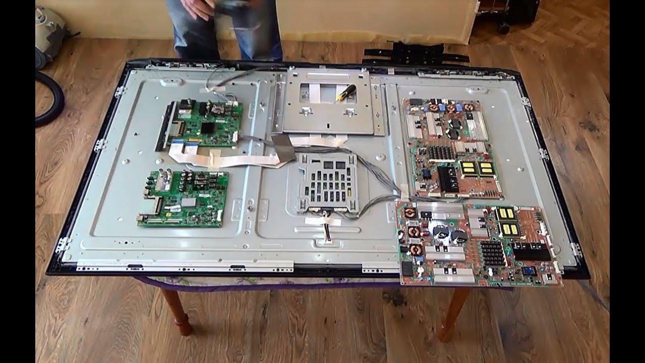 инстаграм не работает Image: Замена плат на телевизоре LG 55 LE5300