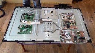 Заміна плат на телевізорі LG 55 LE5300