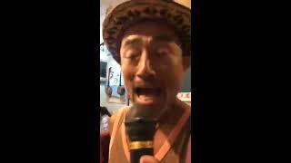 タナカアツシの盟友奈良大介が大島エレジーを唄った!