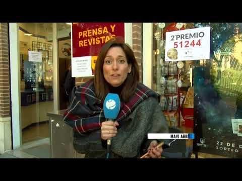 22/12/2017 Un Segundo Premio vendido por un estanco en Murcia