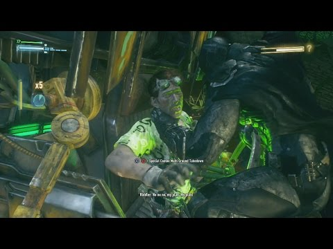 Batman Arkham Knight Riddler Boss Fight (All Riddles Obtained)