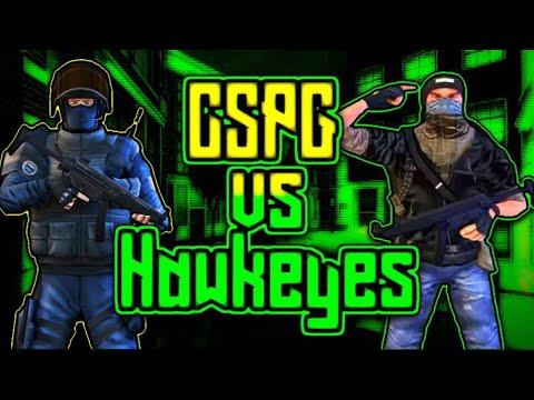 CsPG vs Hawkeyes (Close Scrim)