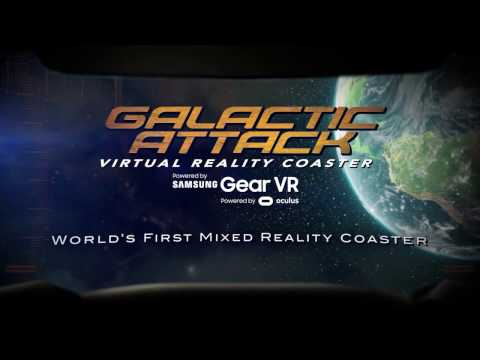 Galactic Attack VR at Six Flags Over Texas
