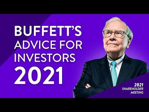 Warren Buffett: How to Invest in the Stock Market in 2021