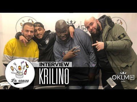 Youtube: KRILINO («Métamorphose», la pression, le théâtre, Jul…) – #LaSauce sur OKLM Radio