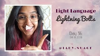 Light Language - Lady Nuage - Lightning Bolt #36