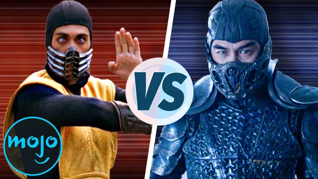 Download Mortal Kombat 1995 VS Mortal Kombat 2021