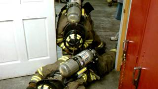 HQ Firefighter SCBA Training - Buddy Breathing / Rescue