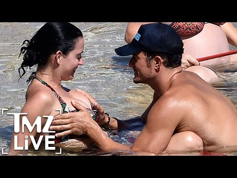 Orlando Bloom GRABS Katy Perry's Boobs! | TMZ Live
