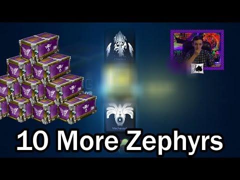 10 Zephyr Opening - 50% Exotic Pulls (Rocket League) thumbnail