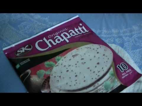 ASMR: Unhealthy Dinner: Chapati, CHAPATTI, chapattti, Nov 2017