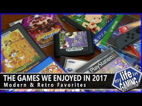 The Games We Enjoyed in 2017 :: Game Showcase - MY LIFE IN GAMING