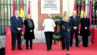 Madrid gedenkt der 191 Opfer der Al-Qaida-Zuganschläge von 2004