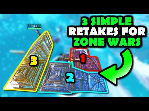 3 Simple RETAKES For ZONE WARS (Win More Matches!) Fortnite Battle Royale