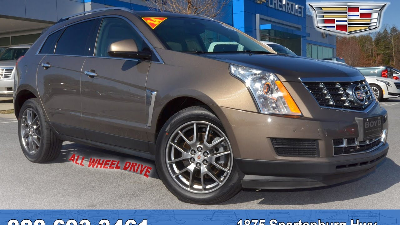 U7435 2014 Cadillac Srx Luxury Awd Terra Mocha Metallic Youtube