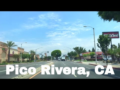🔴  Pico Rivera Realtor Driving Tour 4K