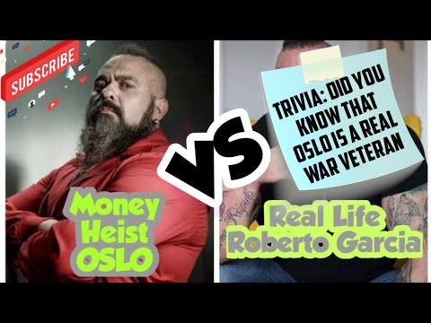 Money Heist Oslo vs. Real Life Roberto Garcia (with Trivia and Interesting Facts)