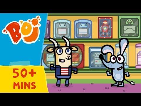 Boj - Playing all Day | Boj A Boom Ideas Compilation | Cartoons for Kids