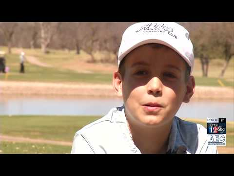 Abilene's own headed to Augusta and the National Drive, Chip, & Putt Finals
